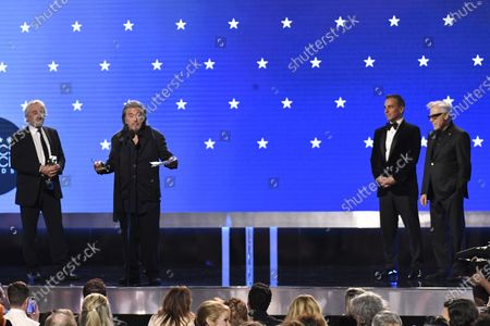 Robert De Niro, Al Pacino, Harvey Keitel and Sebastian Maniscalco - Best Ensemble - The Irishman
