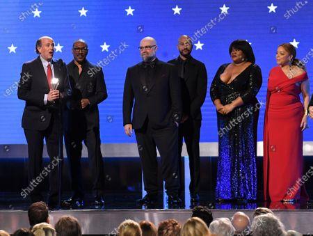 John Davis, Eddie Murphy, Keegan-Michael Key, Craig Brewer, Da'Vine Joy Randolph, and Ruth E. Carter - Best Comedy - Dolemite Is My Name