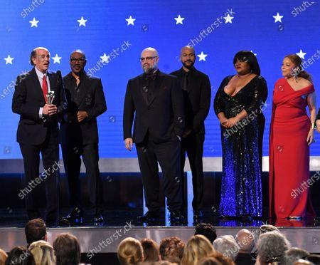 Stock Photo of John Davis, Eddie Murphy, Keegan-Michael Key, Craig Brewer, Da'Vine Joy Randolph, and Ruth E. Carter - Best Comedy - Dolemite Is My Name