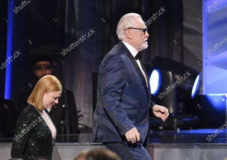 Sarah Snook and Brian Cox - Best Drama Series - Succession