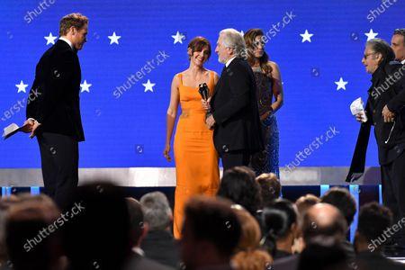 Sam Heughan, Alison Brie, Robert De Niro and Al Pacino - Best Acting Ensemble - The Irishman