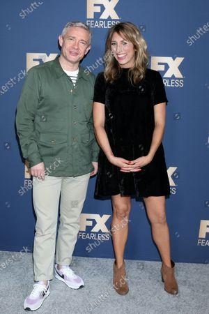 Martin Freeman and Daisy Haggard