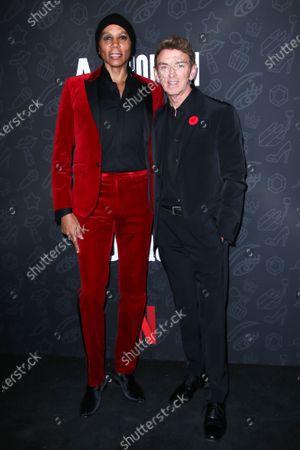 RuPaul and Michael Patrick King