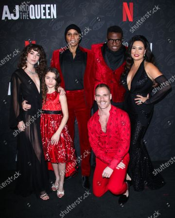 Stock Image of Izzy G, RuPaul, Michael-Leon Wooley, Tia Carrere and Katerina Tannenbaum