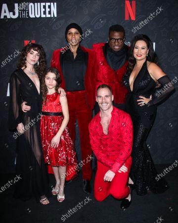 Izzy G, RuPaul, Michael-Leon Wooley, Tia Carrere and Katerina Tannenbaum