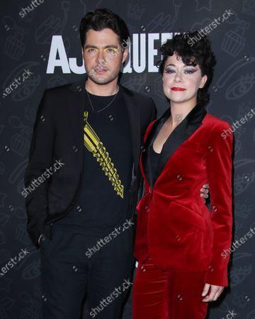 Stock Photo of Ben Lewis and Tatiana Maslany