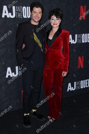 Stock Image of Ben Lewis and Tatiana Maslany