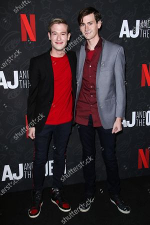 Tyler Henry and his boyfriend