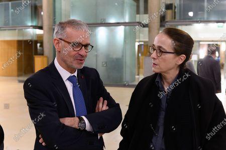 Patrick Bernasconi and Delphine Ernotte Cunci