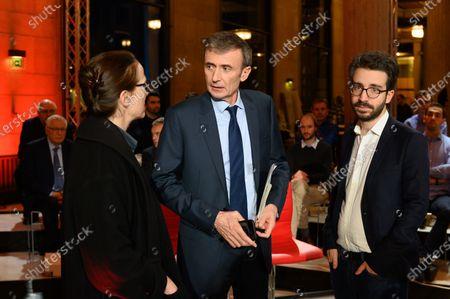 Editorial picture of 'Vous Avez La Parole' TV show, Paris, France - 09 Jan 2020