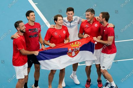 Editorial photo of ATP Cup tennis tournament, Sydney, Australia - 10 Jan 2020