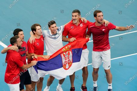 Editorial picture of ATP Cup tennis tournament, Sydney, Australia - 10 Jan 2020