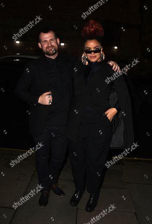Editorial photo of Gold Movie Awards, Departures, Regent Street Cinema, London, UK - 09 Jan 2020