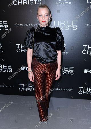 Editorial picture of 'Three Christs' film screening, New York, USA - 09 Jan 2020