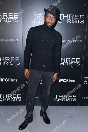 Editorial photo of 'Three Christs' film screening, New York, USA - 09 Jan 2020
