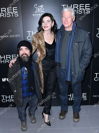 Peter Dinklage, Julianna Margulies and Richard Gere