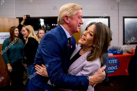 Editorial image of Election 2020 Marianne Williamson Bill Weld, Des Moines, USA - 09 Jan 2020