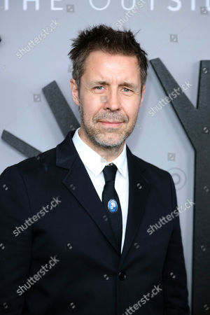 """Stock Image of Paddy Considine attends the LA Premiere of """"The Outsider"""" at the Directors Guild of America, in Los Angeles"""