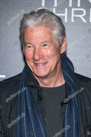 """Richard Gere attends a screening of """"Three Christs"""", hosted by IFC Films and The Cinema Society, at Regal Essex Crossing on in New York"""