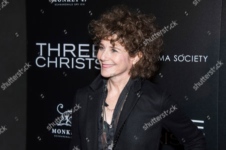 """Debra Winger attends a screening of """"Three Christs"""", hosted by IFC Films and The Cinema Society, at Regal Essex Crossing on in New York"""