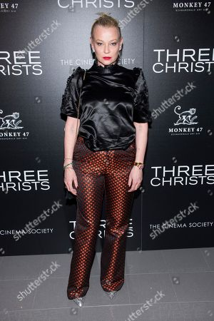 """Stock Photo of Samantha Mathis attends a screening of """"Three Christs"""", hosted by IFC Films and The Cinema Society, at Regal Essex Crossing on in New York"""