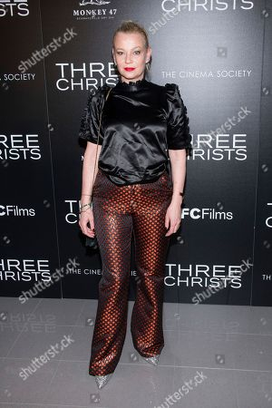 """Stock Picture of Samantha Mathis attends a screening of """"Three Christs"""", hosted by IFC Films and The Cinema Society, at Regal Essex Crossing on in New York"""