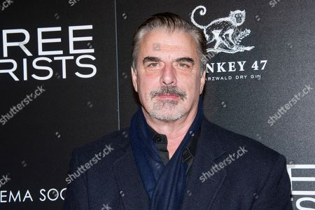 "Stock Image of Chris Noth attends a screening of ""Three Christs"", hosted by IFC Films and The Cinema Society, at Regal Essex Crossing on in New York"