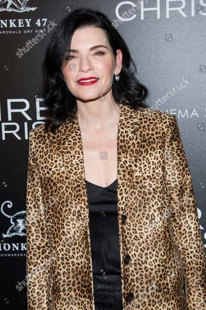 """Julianna Margulies attends a screening of """"Three Christs"""", hosted by IFC Films and The Cinema Society, at Regal Essex Crossing on in New York"""