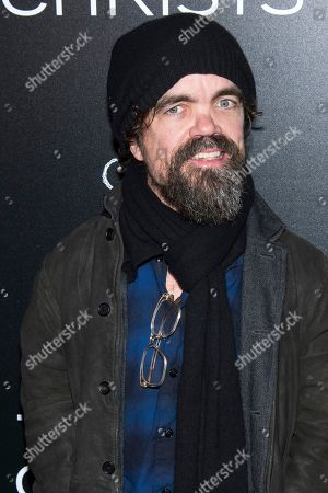 """Peter Dinklage attends a screening of """"Three Christs"""", hosted by IFC Films and The Cinema Society, at Regal Essex Crossing on in New York"""