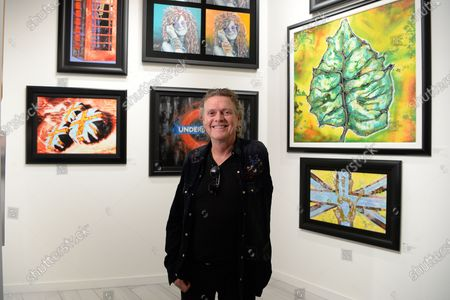 Editorial picture of 'Rick Allen: Legend and Dreams' Exhibition, Wentworth Gallery, Hollywood, USA - 09 Jan 2020