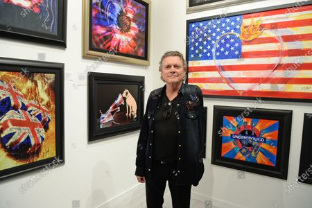 Editorial photo of 'Rick Allen: Legend and Dreams' Exhibition, Wentworth Gallery, Hollywood, USA - 09 Jan 2020