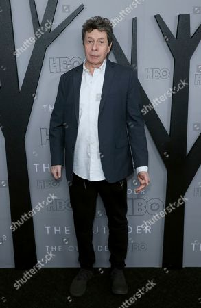 """Richard Price attends the LA Premiere of """"The Outsider"""" at the Directors Guild of America, in Los Angeles"""