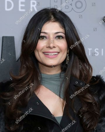 """Pooja Batra attends the LA Premiere of """"The Outsider"""" at the Directors Guild of America, in Los Angeles"""
