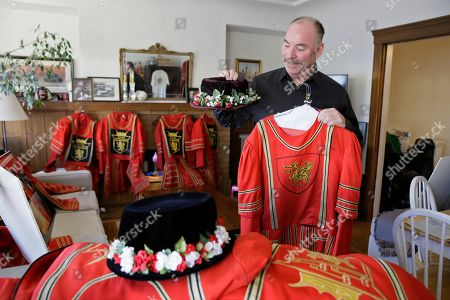 Editorial picture of Beefeater Doorman Retires, San Francisco, USA - 07 Jan 2020