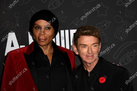 RuPaul (L) and US director Michael Patrick King (R) attend the premiere of Netflix's 'AJ and The Queen' at the Egyptian Theatre in Hollywood, California, USA, 09 January 2020.
