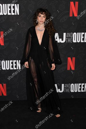 Katerina Tannenbaum attends the premiere of Netflix's 'AJ and The Queen' at the Egyptian Theatre in Hollywood, California, USA, 09 January 2020.