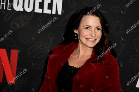 Kristin Davis attends the premiere of Netflix's 'AJ and The Queen' at the Egyptian Theatre in Hollywood, California, USA, 09 January 2020.