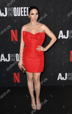 Whitney Cummings attends the premiere of Netflix's 'AJ and The Queen' at the Egyptian Theatre in Hollywood, California, USA, 09 January 2020.