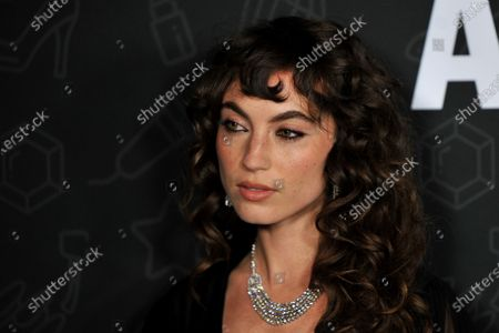 Stock Photo of Katerina Tannenbaum attends the premiere of Netflix's 'AJ and The Queen' at the Egyptian Theatre in Hollywood, California, USA, 09 January 2020.