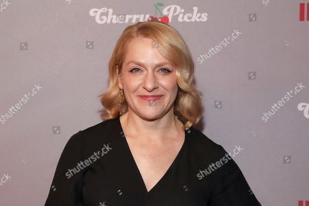 Arianne Sutner attends the Hollywood Critics' Awards at the Taglyan Complex, in Los Angeles