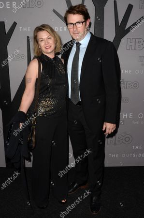 Stock Photo of Melissa Bruning and Derek Cecil