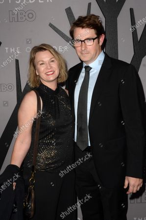 Stock Image of Melissa Bruning and Derek Cecil