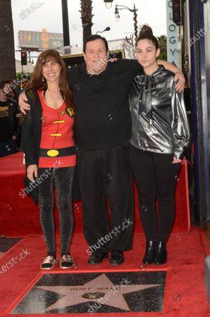Tracy Posner Ward, Burt Ward and Melody Lane Ward