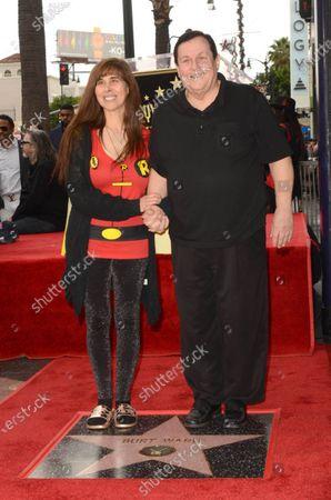 Tracy Posner Ward and Burt Ward