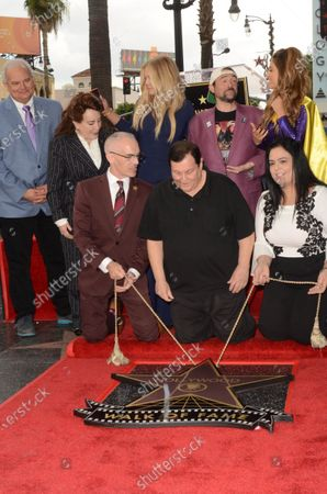 Stock Picture of Nancy O'Dell, Kevin Smith, Maria Menounos and Burt Ward