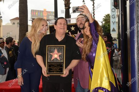 Editorial photo of Burt Ward honored with a star on the Hollywood walk of fame, Los Angeles, USA - 09 Jan 2020