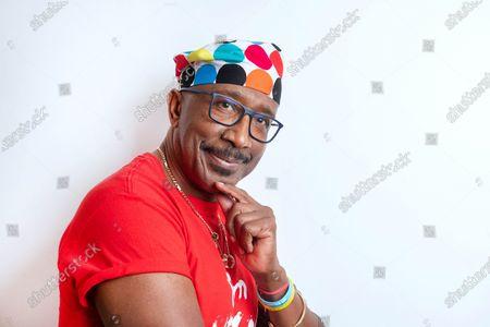 Stock Picture of Derrick Evans, aka 'Mr. Motivator'