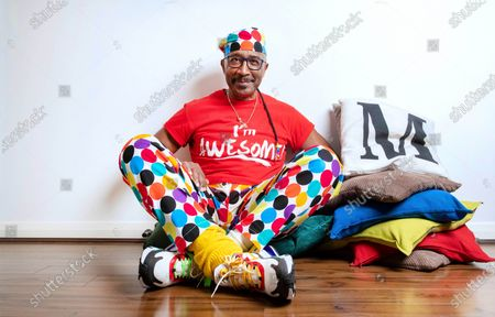 Editorial picture of Derrick Evans at home in Manchester, UK - 14 Nov 2019
