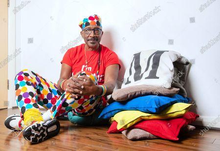 Stock Image of Derrick Evans, aka 'Mr. Motivator'