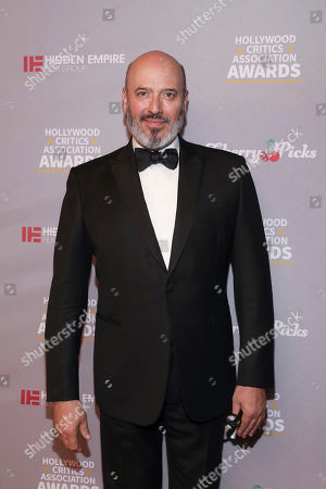 Mark Bridges attends the Hollywood Critics' Awards at the Taglyan complex on in Los Angeles